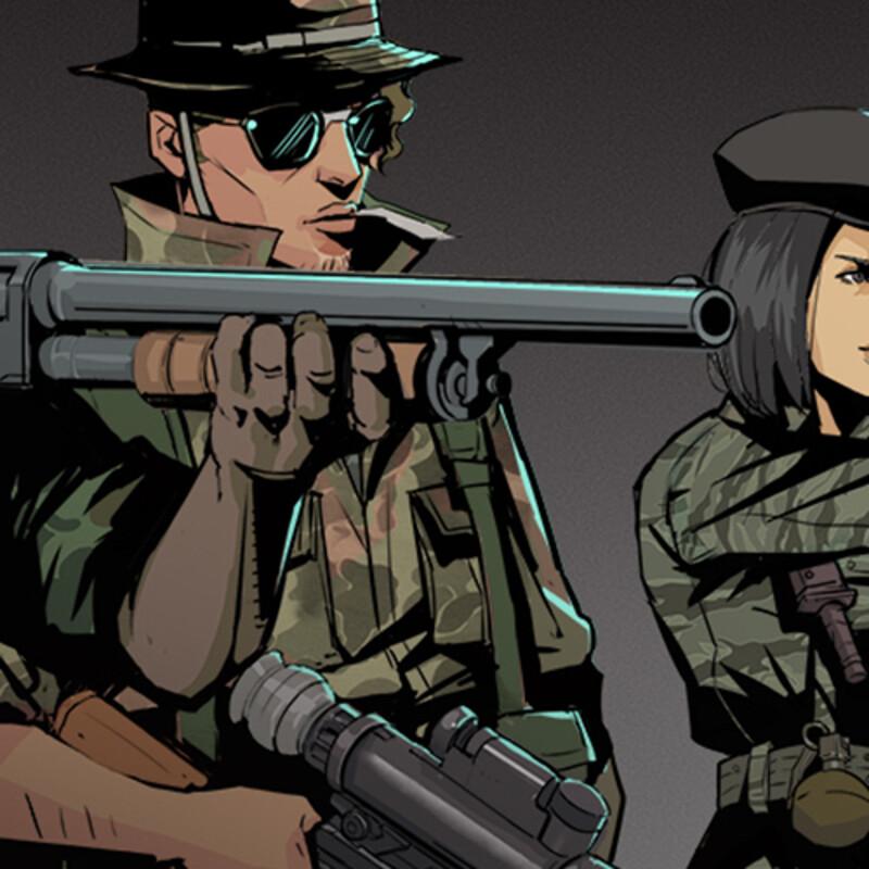 Military Characters - semi realistic