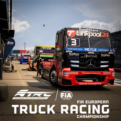 FIA European Truck Racing Championship - Tech Art