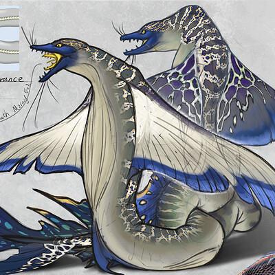 Yen shu liao 09 stormlightarchive skyeel common creature concept ortho yen shu liao