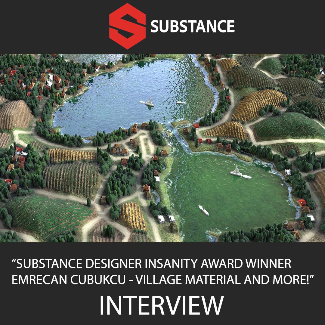 Substance3D Interview