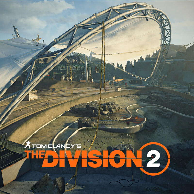 Penguin area - Manning National Zoo - Tom Clancy's The Division 2