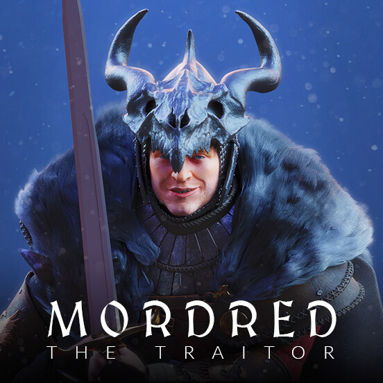 Mordred The Traitor - The Legend of King Arthur Film/VFX Character Art (rendered)