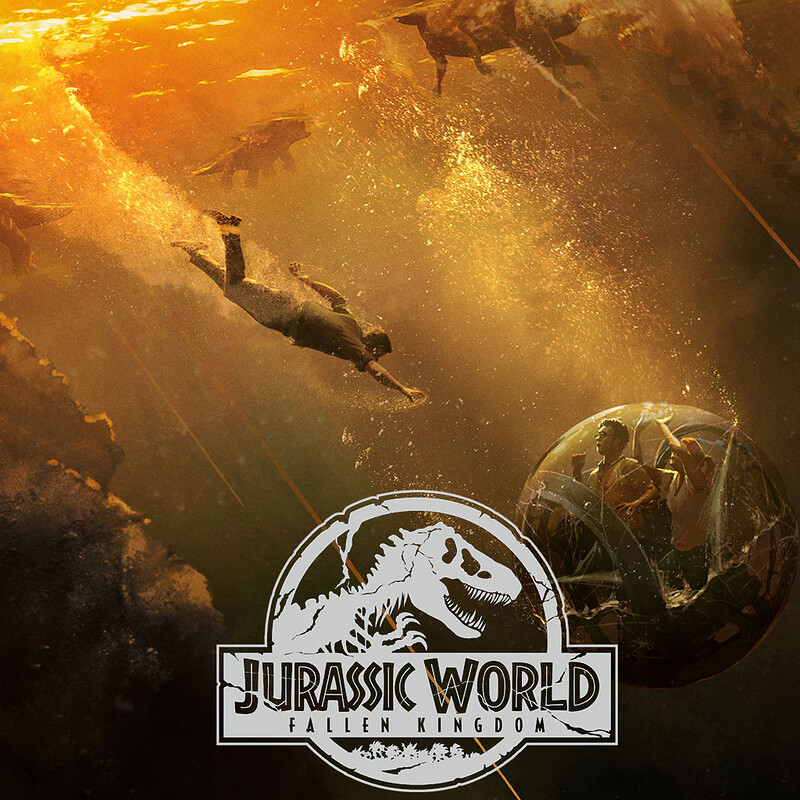 Jurassic World: Fallen Kingdom - Underwater Gyrosphere
