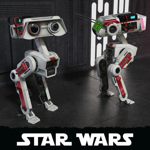 STAR WARS BD-1 [fan art]