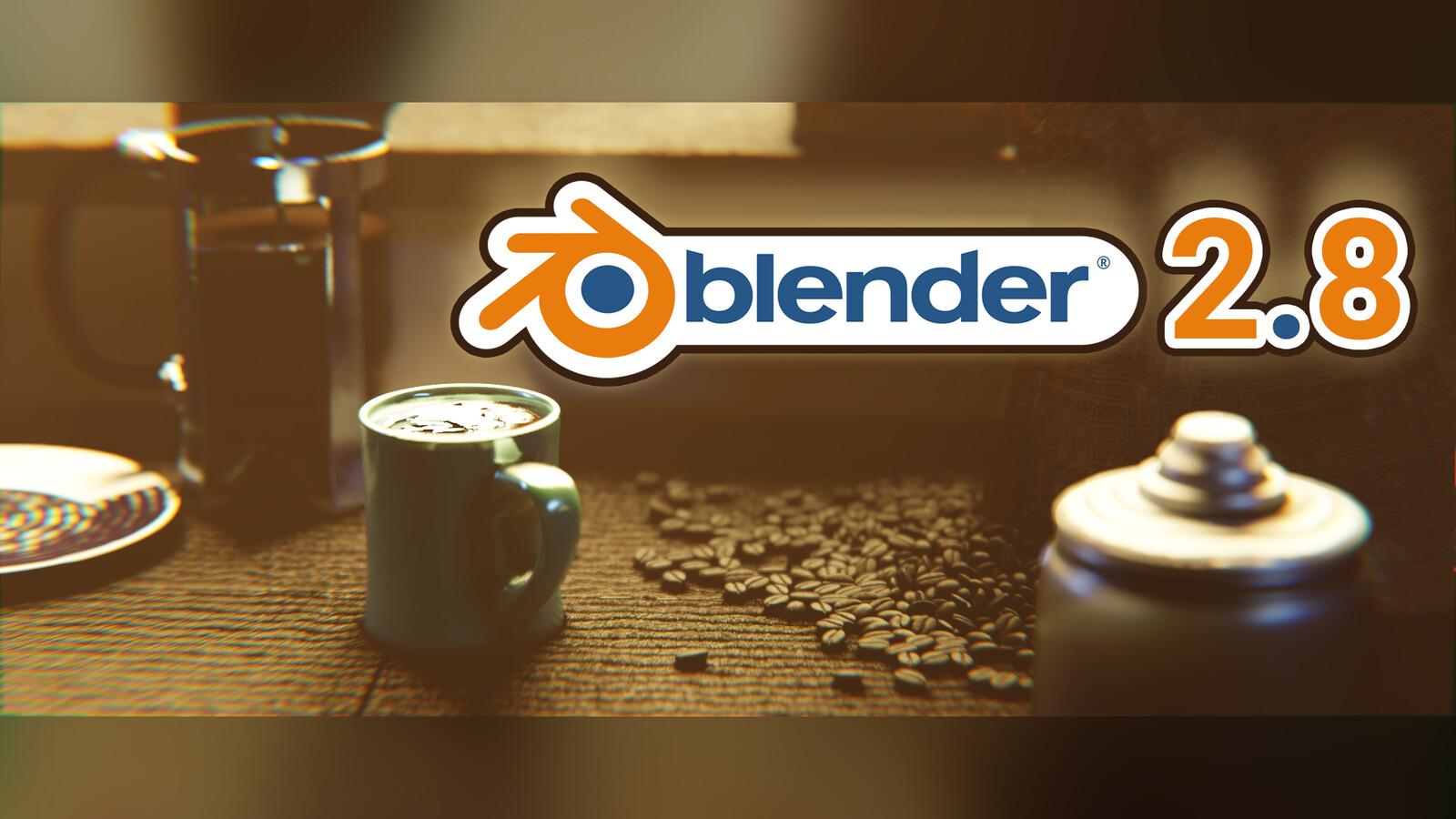 """""""Coffee"""" - Blender 2.8 Eevee"""