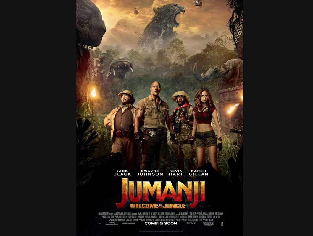 JUMANJI : The Darker Side