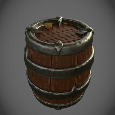 Emil larsen emil larsen stylized barrel 5