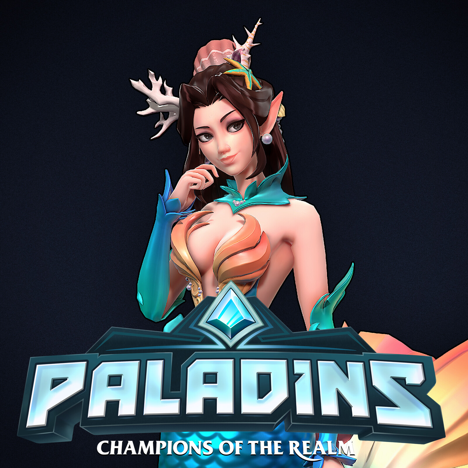 Paladins - Mermaid Ying