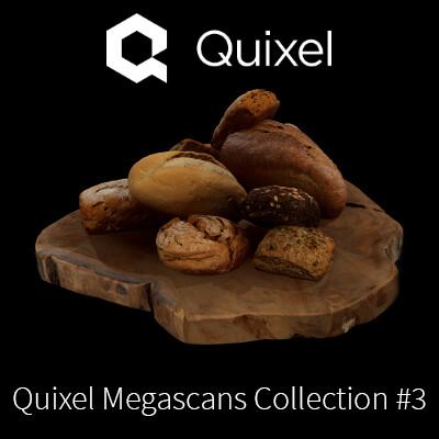 Quixel Megascans Bakery Items