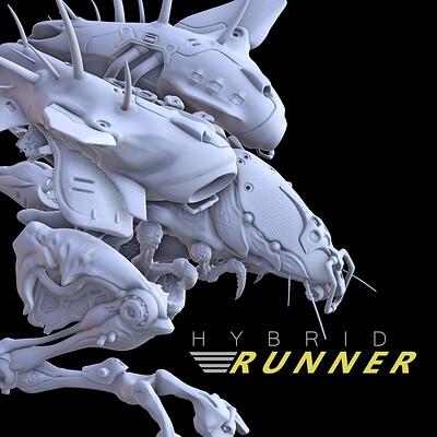 Igor puskaric hybrid runner artstation headsup image