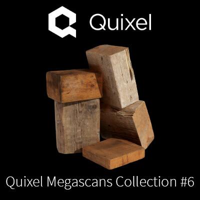 Quixel Megascans Scrap Wood