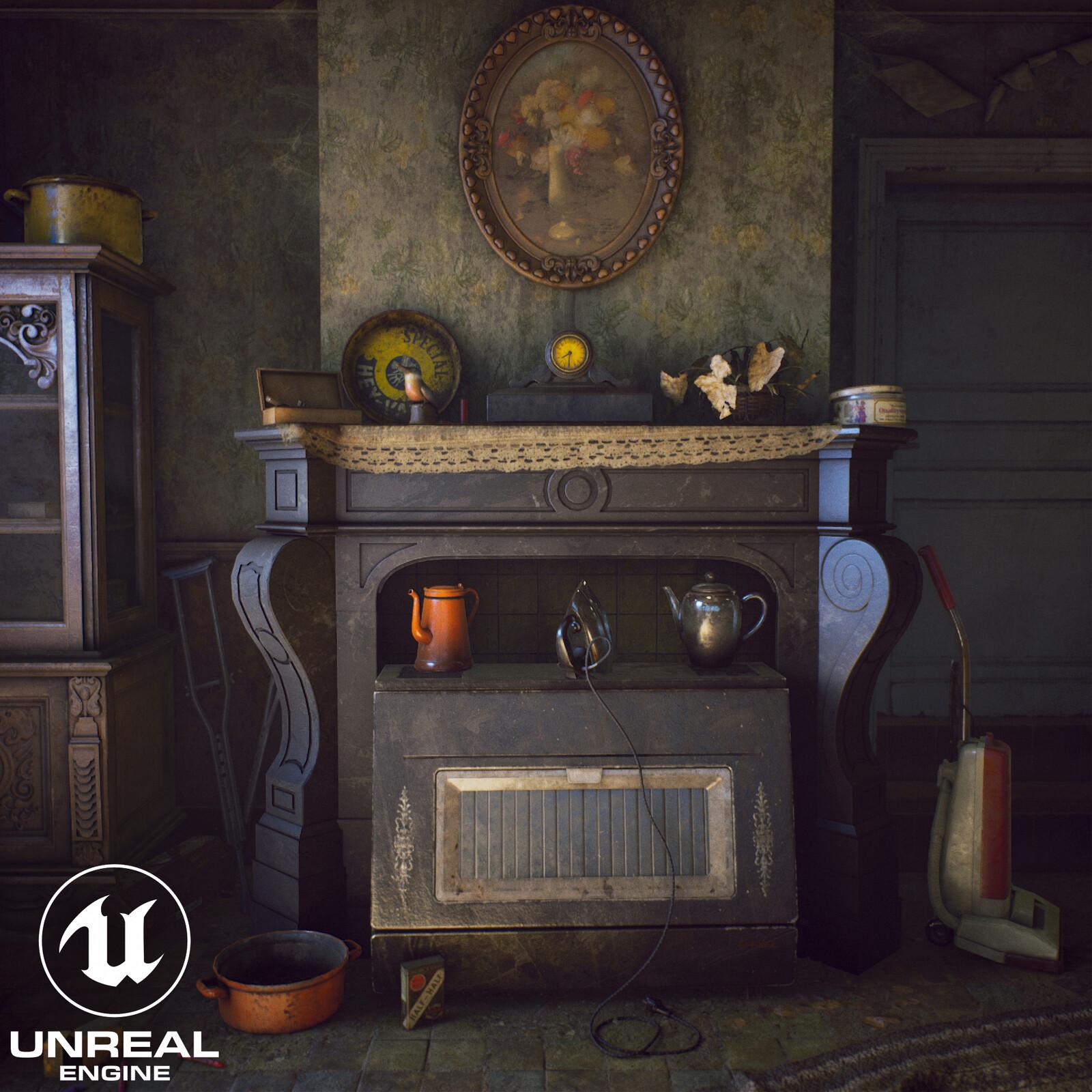 Abandoned Farmhouse - Unreal engine 4.21