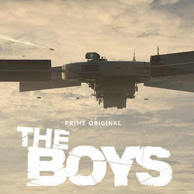 """The Boys"" Tv Series - Unused Early concept design"
