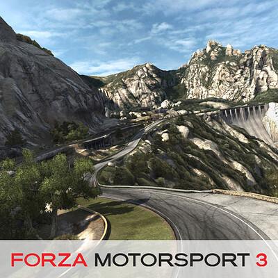 Forza Motorsport 3 - Camino Viejo de Montserrat Environment