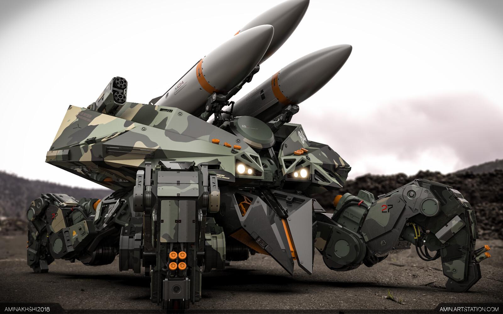 M 506 Raytheon, 100th Missile Defense Brigade