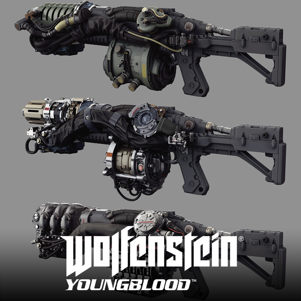 Wolfenstein: Youngblood - LKW  HighPoly