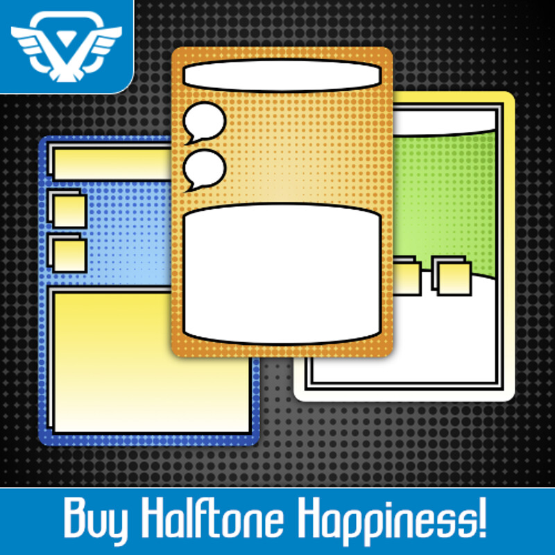 Halftone Happiness Asset Pack