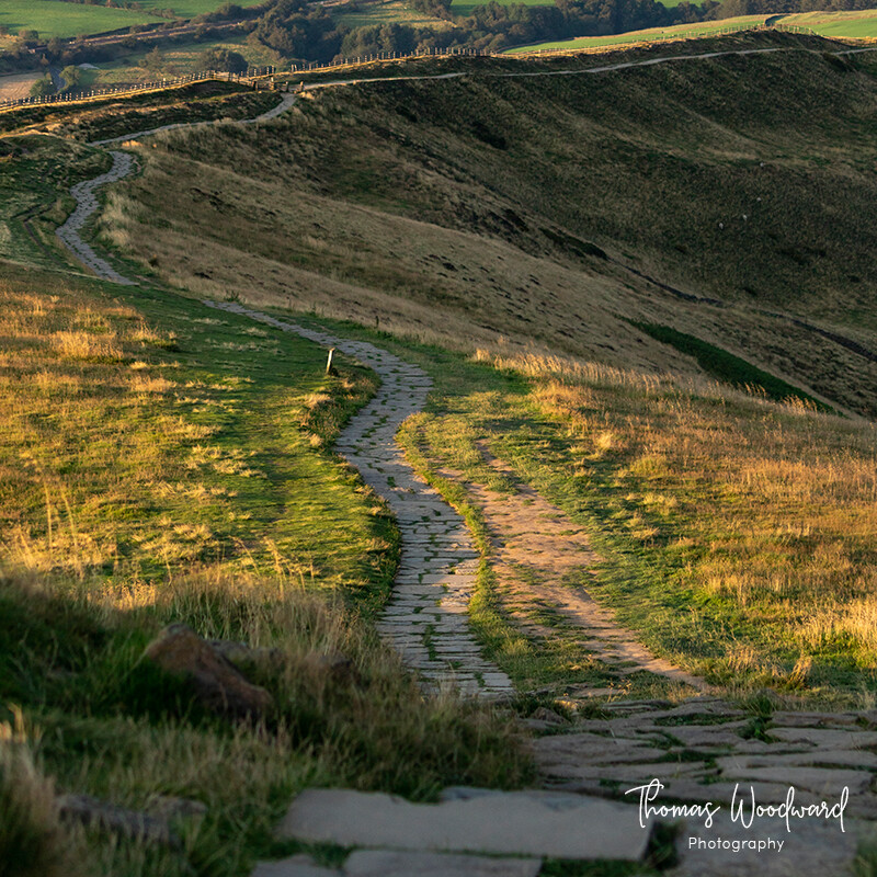 Mam Tor in the Evening