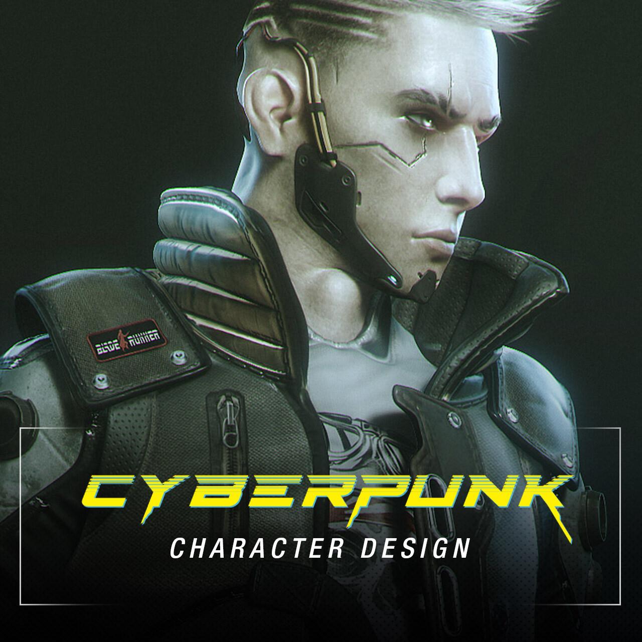 CyberPunk - Character Design (Tutorial)