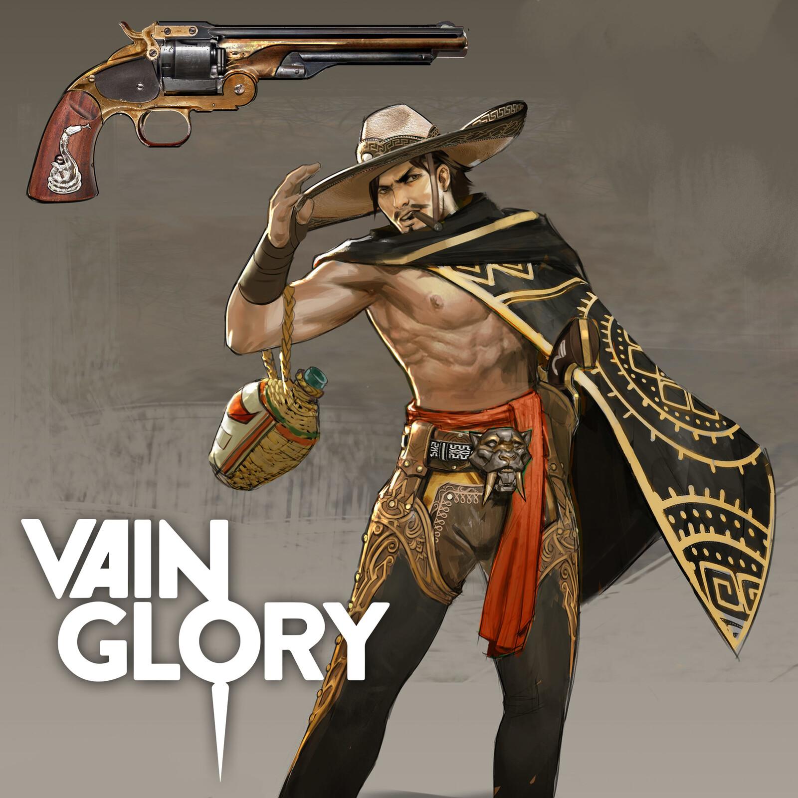 Vaquero Ringo Vainglory Skin Design