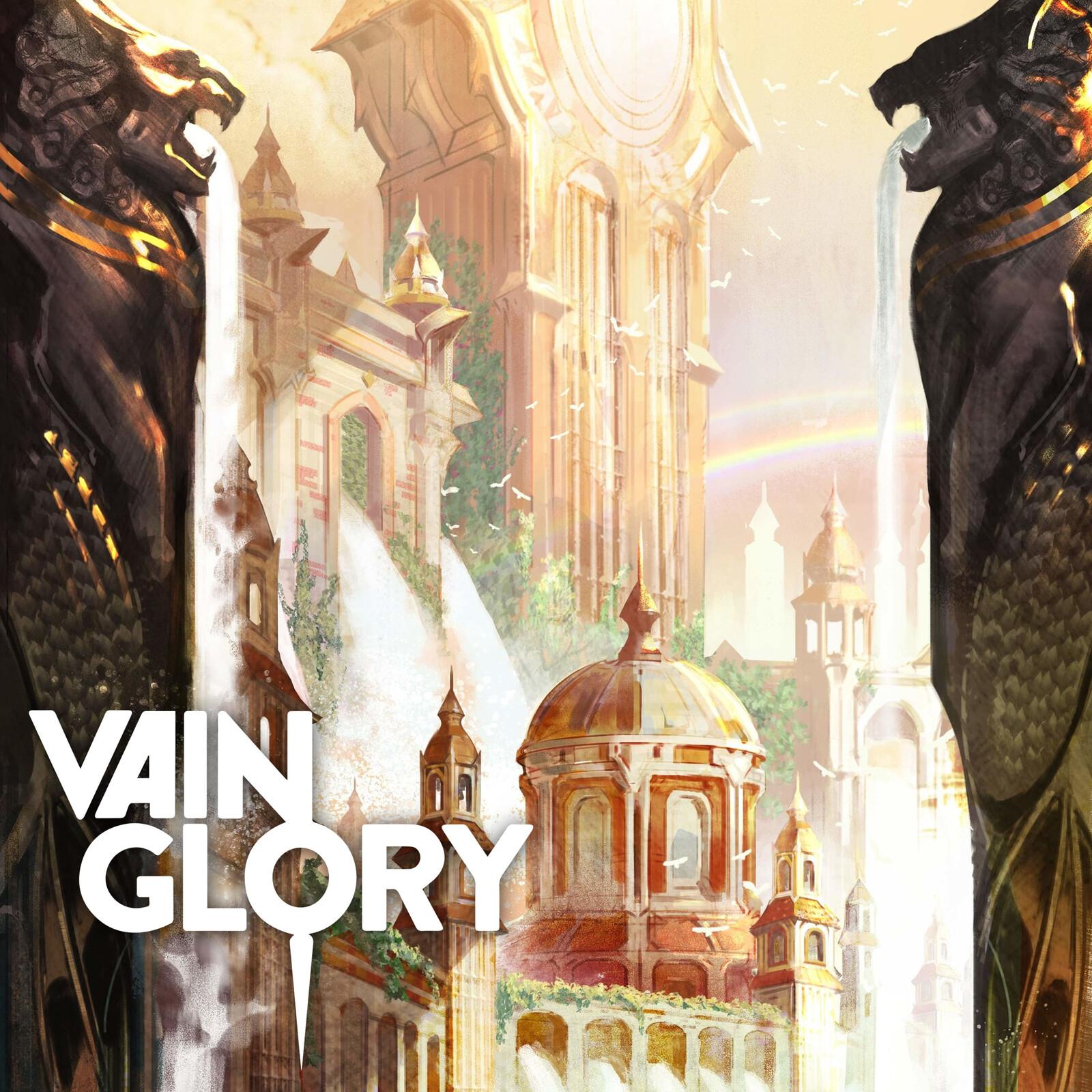 Vainglory Lore Art - Gythian Lance