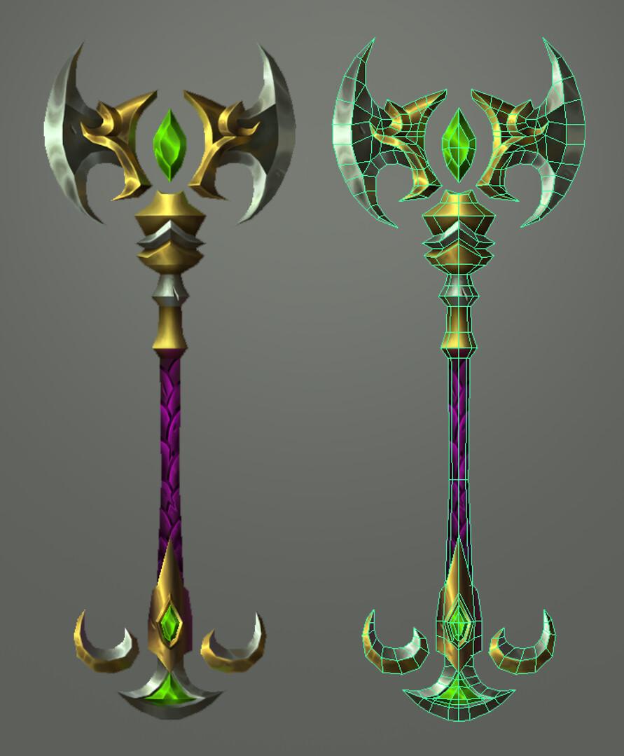 3D Staff
