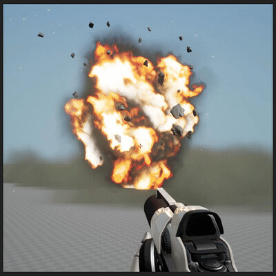VFX Explosion Effect