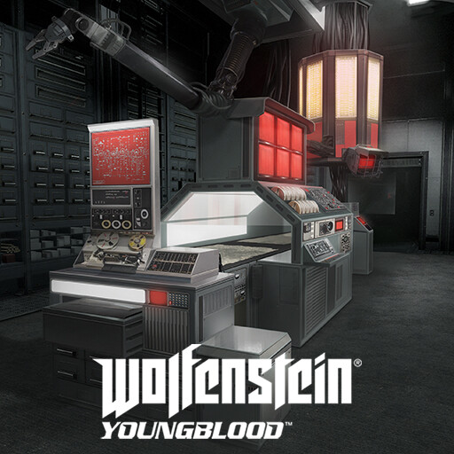 Wolfenstein Youngblood - Archive digitisation