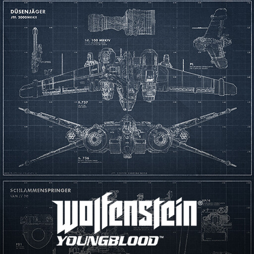 Wolfenstein Youngblood - Blueprints