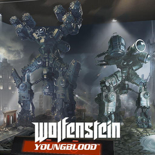 Wolfenstein Youngblood - Dioramas