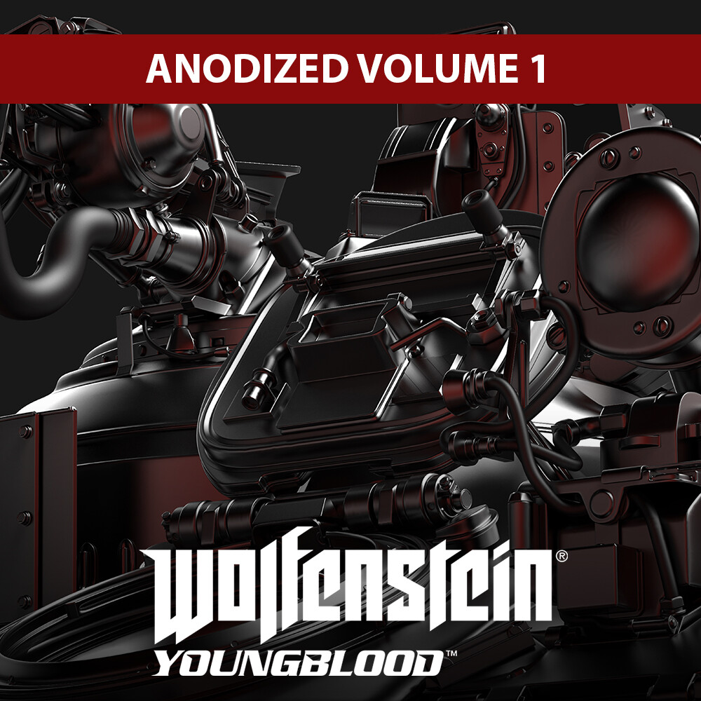 Wolfenstein: Youngblood - Anodized Volume 1 -  APC R SCHLAMMSRPINGER M/RSP 80