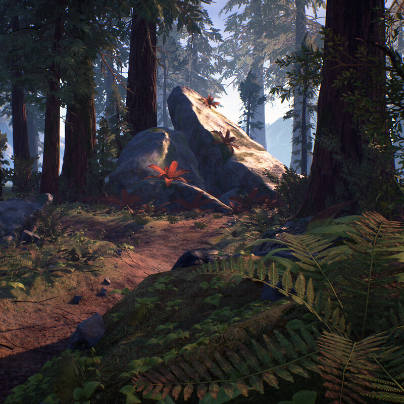 CGMA - Redwood Forest [UE4]