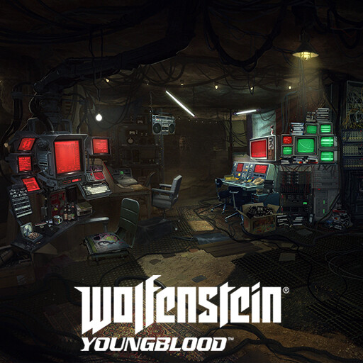 Wolfenstein Youngblood - Catacombs hackers central