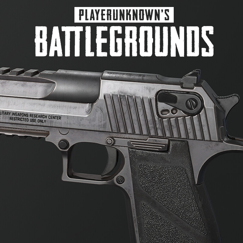 Playerunknown's Battlegrounds: Deagle