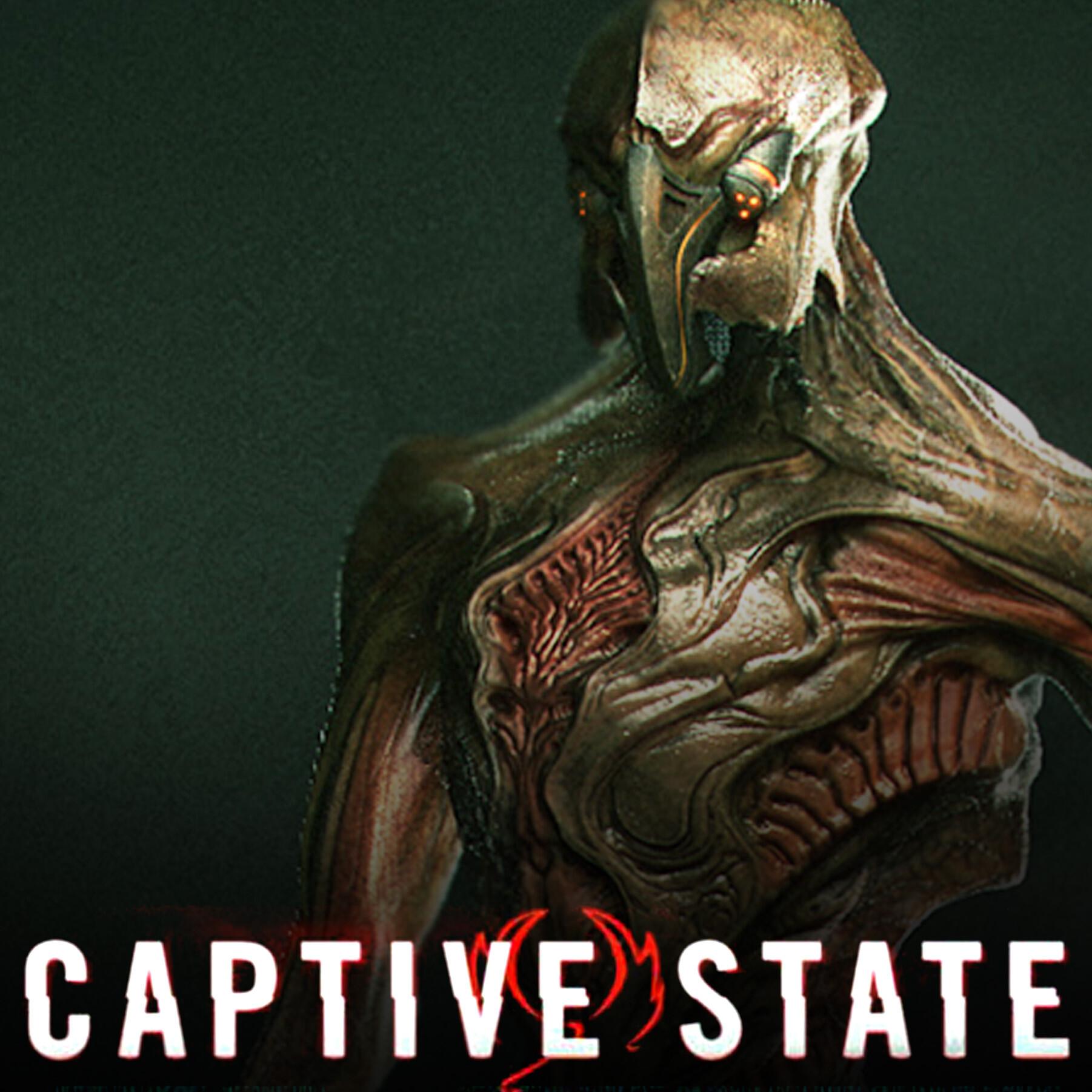 Artstation Captive State 2019 Alien Designs Kyle Brown