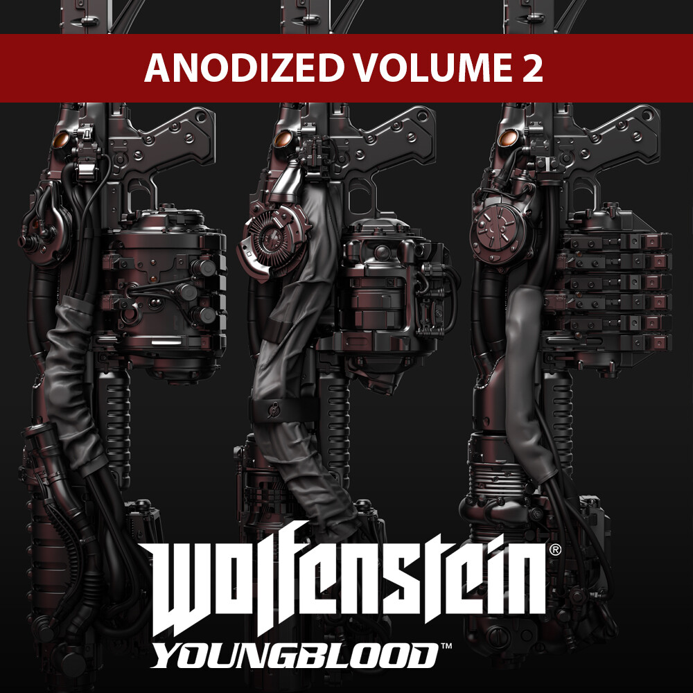 Wolfenstein: Youngblood - Anodized Volume 2