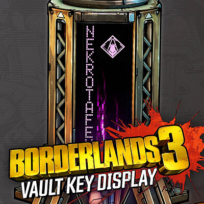 Vault Key Display
