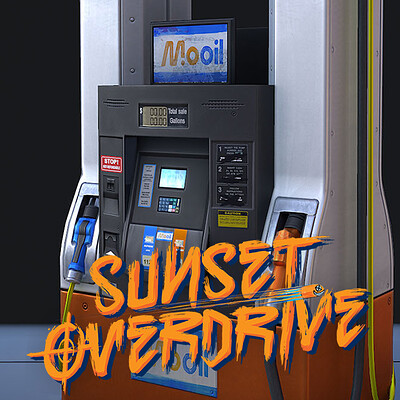 Gas Station - Sunset Overdrive