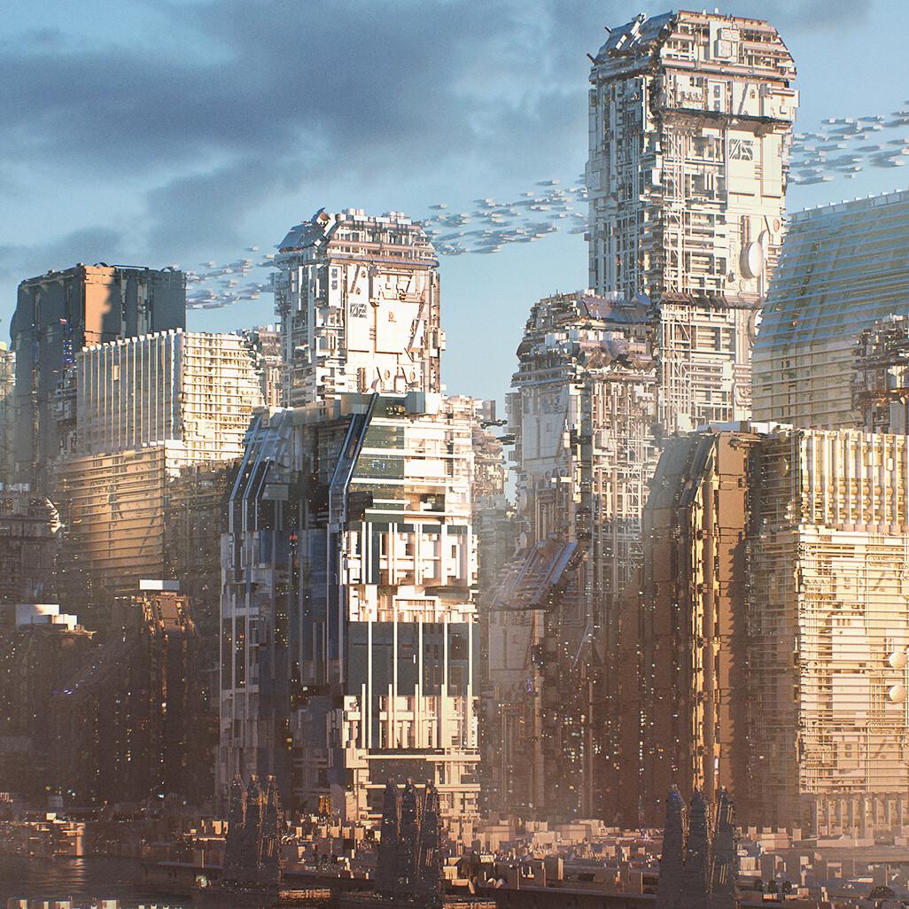 Sci-Fi Port City