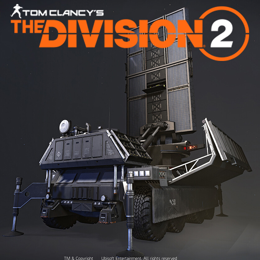 The Division 2: Operation Dark Hours - 'DDP-52 Razorback'
