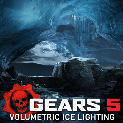 Gears 5 : Volumetric Lighting Technique for Ice.