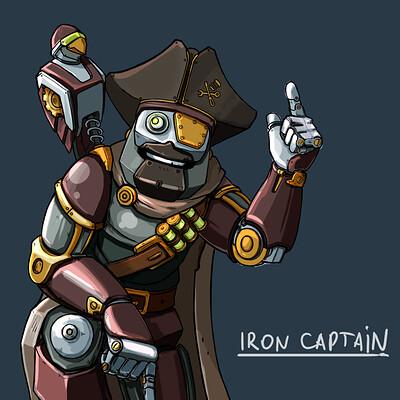 Yury volkov iron captain