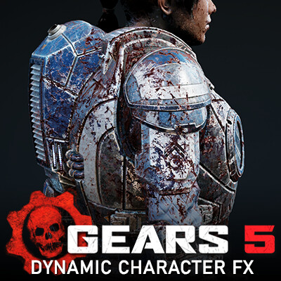 Gears 5 - Dynamic Character FX System