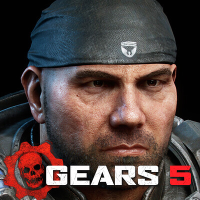 Gears 5 - Dave Bautista.