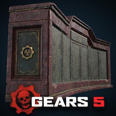 Gears 5 - Cog Memorial