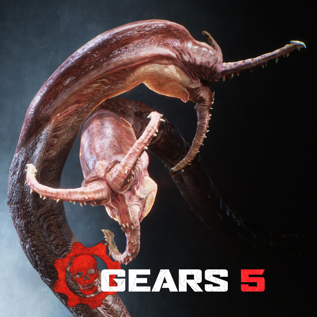 Gears 5 Kraken Tongue