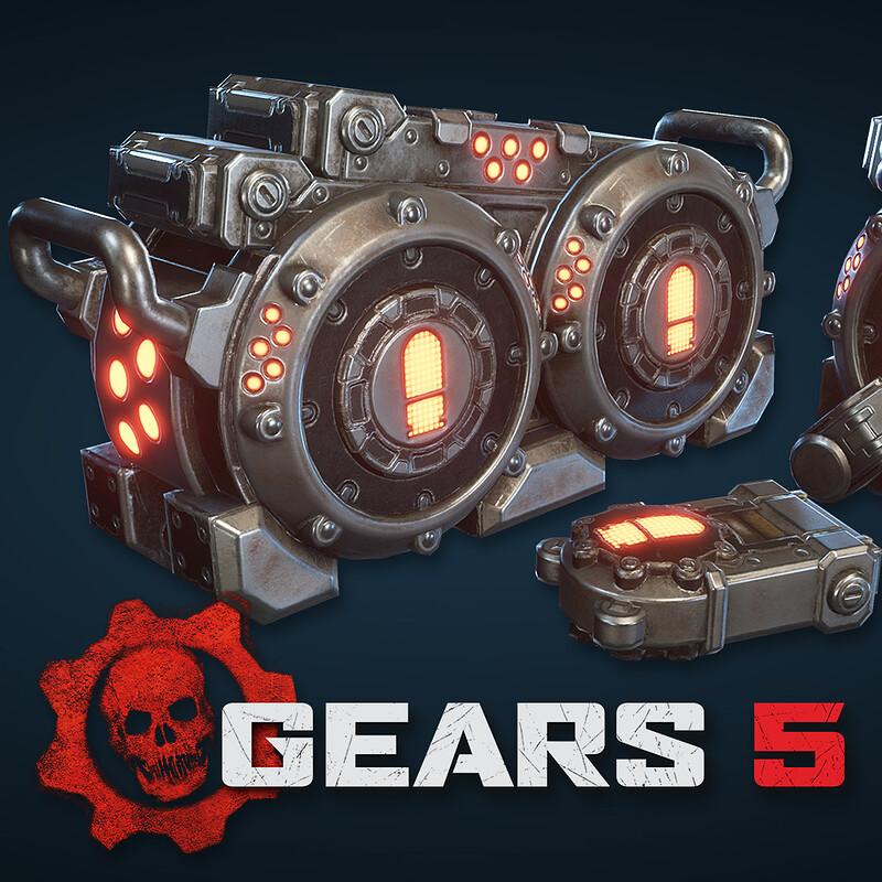 Gears 5 - Props