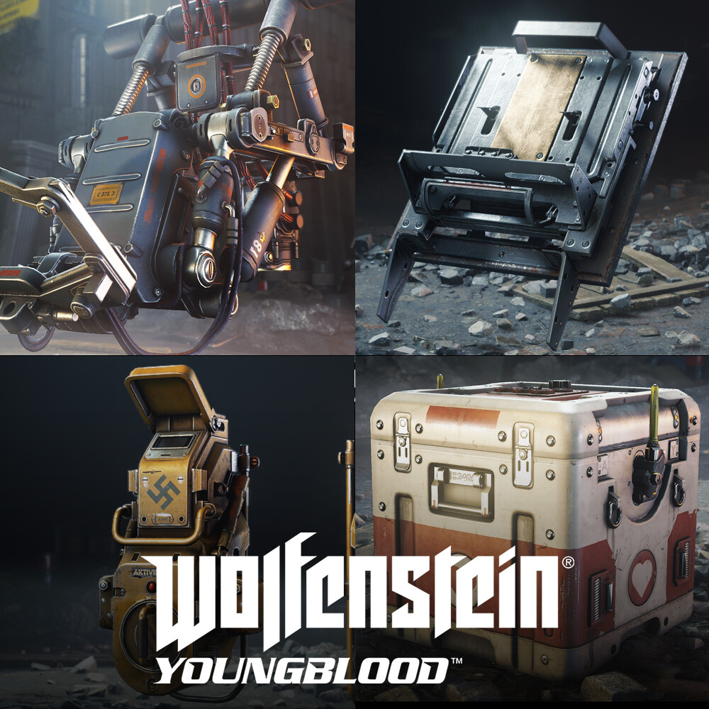 Wolfenstein: Youngblood - small props