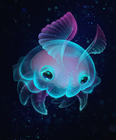 Biscuit - The Elusive Deep Sea Jelly Bun