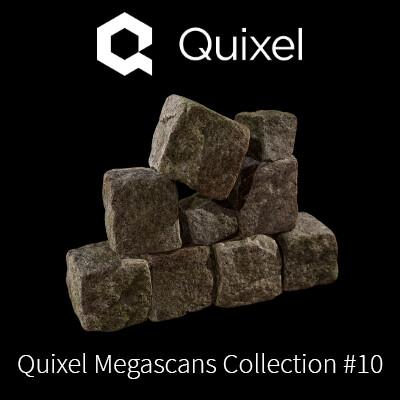 Quixel Megascans Cobblestones